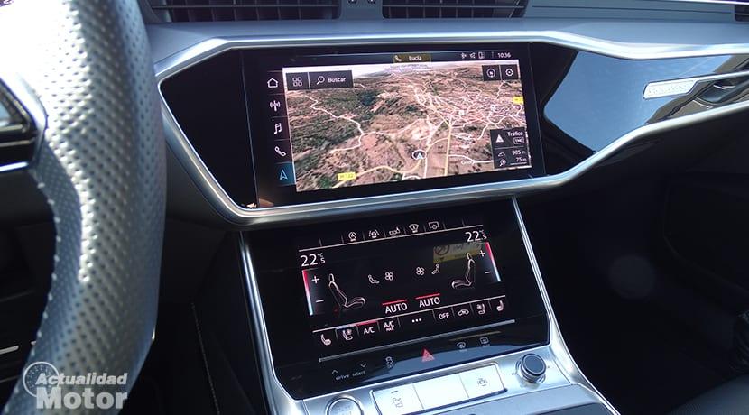 Pantallas del Audi A6