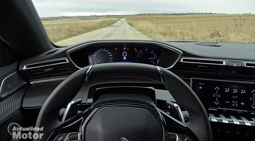 Peugeot i-cockpit en Peugeot 508