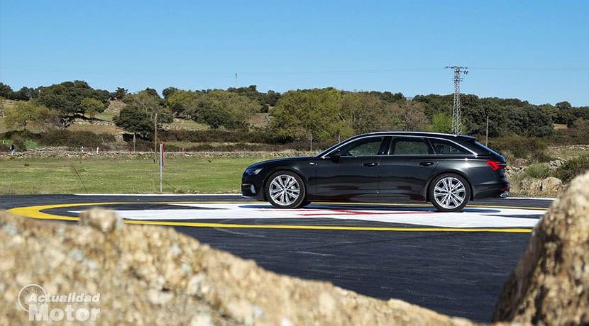 Prueba Audi A6 Avant 50 TDI 286 CV lateral