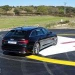 Perfil trasero Audi A6 Avant 50 TDI 286 CV prueba
