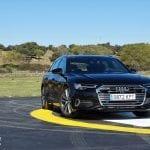 Frontal Audi A6 Avant