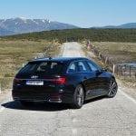 Audi A6 Avant 50 TDI 286 CV prueba perfil trasero