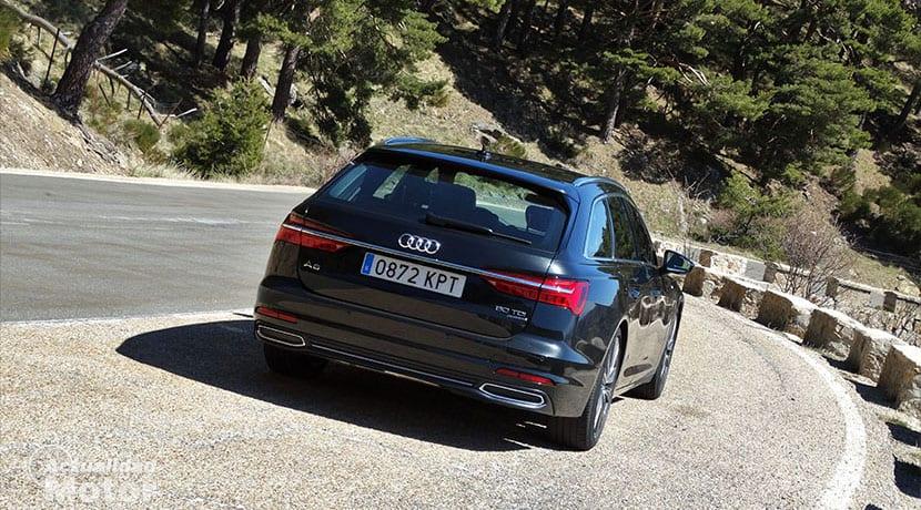Audi A6 Avant parte trasera