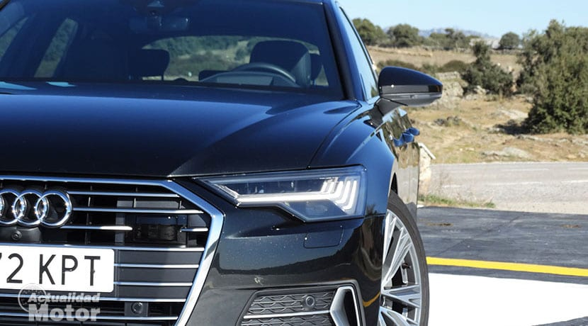 Prueba Audi A6 Avant faros HD Matrix LED