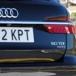 Audi A6 Avant TDI 286 CV detalle parte trasera