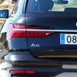 Detalle parte trasera Audi A6 Avant