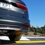 Falsas salidas de escape en Audi A6 Avant