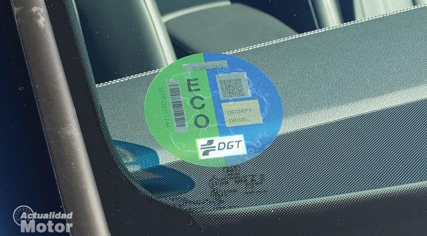 Audi A6 con etiqueta Eco