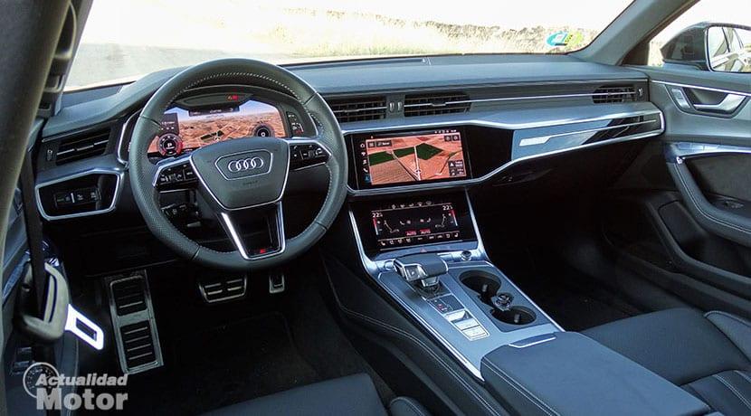 Prueba Audi A6 Avant 50 TDI diseño interior