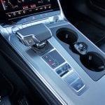 Consola central Audi A6 selector cambio automático