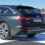 Prueba Audi A6 Avant 50 TDI 286 CV parte trasera