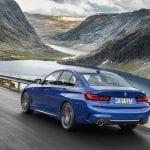 BMW Serie 3 dinámica trasera