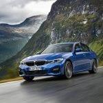 BMW Serie 3 G20 dinámica perfil delantero