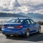 BMW Serie 3 perfil trasero dinámica prueba