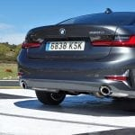 Prueba BMW Serie 3 maletero