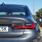 Prueba BMW Serie 3 detalle pilotos traseros