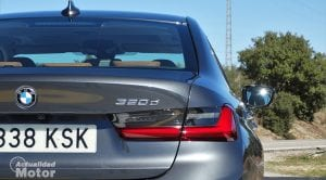 Detalle exterior prueba BMW 320d 190 CV G20 diésel
