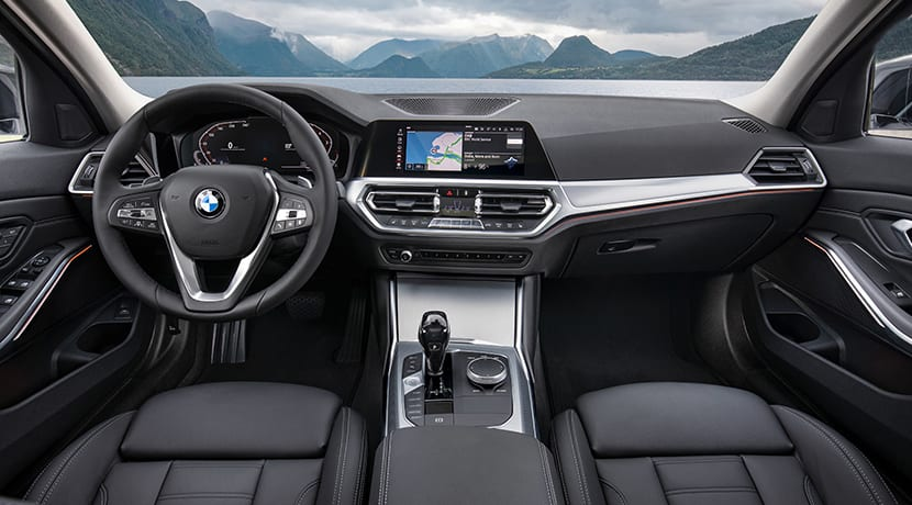 Diseño interior BMW 320d