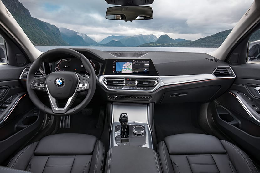 Prueba BMW Serie 3 interior