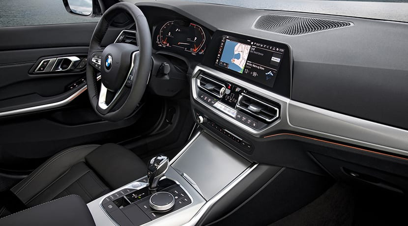 Pantallas interior BMW Serie 3