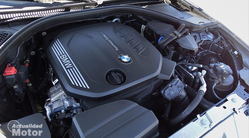 BMW 320d 190 CV motor diésel