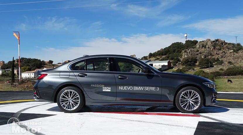 Prueba BMW Serie 3 lateral