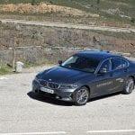 Perfil delantero BMW 320d