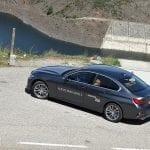Perfil trasero BMW 320d G20