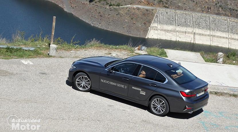 Prueba BMW Serie 3 perfil trasero