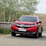 Prueba Honda CR-V 1.5 VTEC Turbo 4x4 frontal
