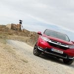 Prueba Honda CR-V VTEC Turbo 173 CV 4x4 frontal
