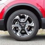 Prueba Honda CR-V VTEC Turbo 173 CV 4x4 llantas