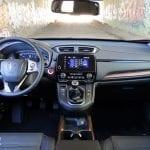 Prueba Honda CR-V VTEC Turbo 173 CV 4x4 salpicadero