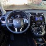 Prueba Honda CR-V VTEC Turbo 173 CV 4x4 puesto de conducción