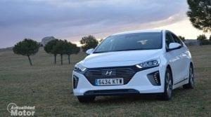 Prueba Hyundai Ioniq PHEV delantera