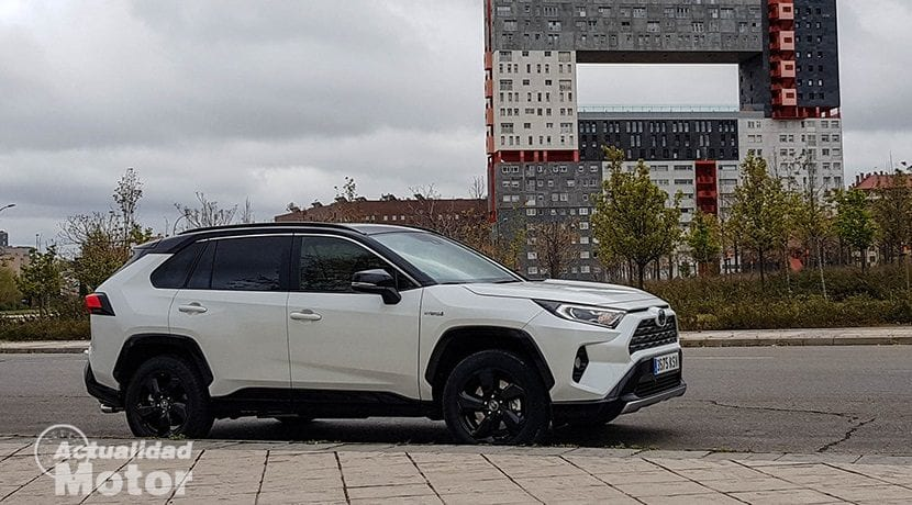 Consumos del Toyota Rav4 2019 220H 4x2 Feel!