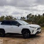 Toyota Rav4 2019 220H 4x2 Feel! probando por el campo