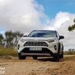 Prueba off-road del Toyota Rav4 2019 220H 4x2 Feel!