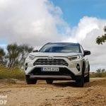 Prueba off-road del Toyota Rav4 2019 220H 4x2 Feel!