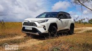 Prueba Toyota Rav4 2019 220H 4x2 Feel!