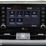 Pantalla táctil del Toyota Rav4 2019 220H 4x2 Feel!