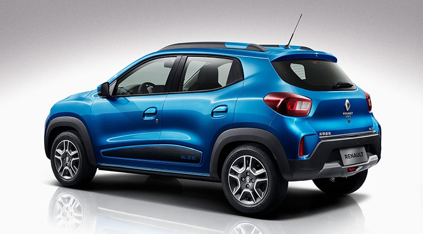 Renault City K-ZE trasera