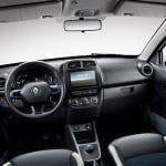 Renault City K-ZE salpicadero