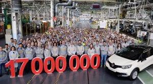 Renault España produce la unidad 17 millones