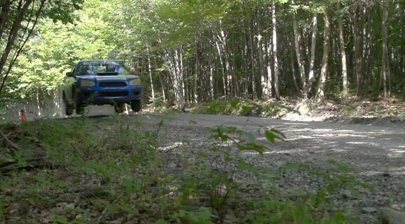 Cómo saltar con el coche Subaru