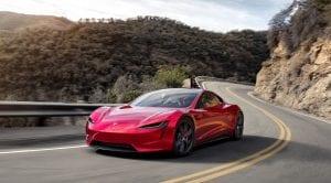 Autonomía del Tesla Roadster
