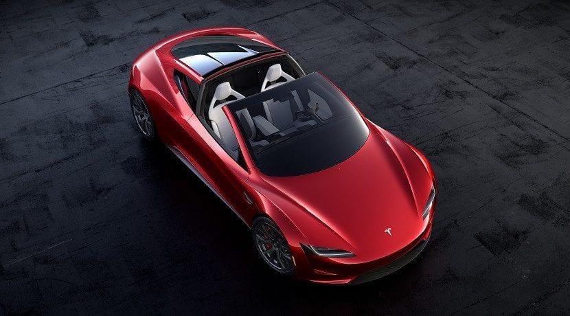 Tesla Roadster sin techo