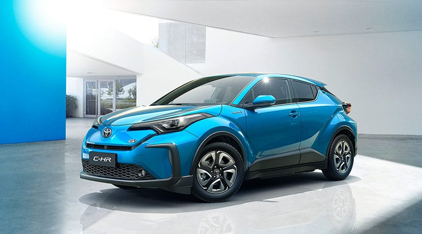 Toyota C-HR EV China