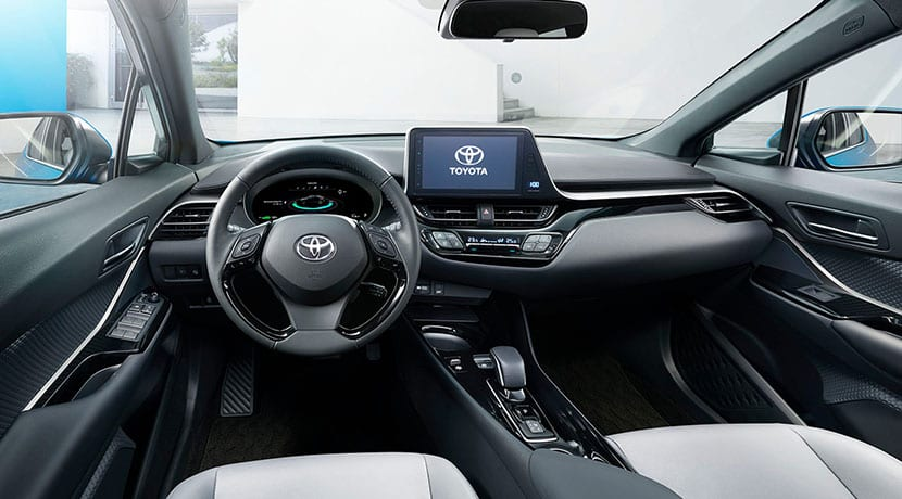Interior Toyota C-HR EV China
