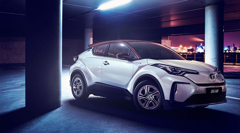 Perfil Toyota C-HR EV China